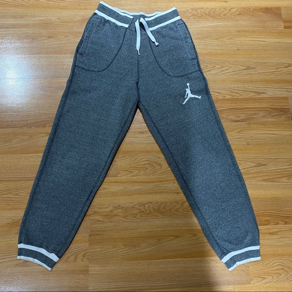 Nike Jordan's Grey Sweat Pants Men's Size Small
